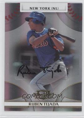 2008 Donruss Threads - [Base] - Gold Signatures #74 - Ruben Tejada /999