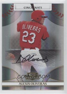 2008 Donruss Threads - [Base] - Gold Signatures #77 - Alexis Oliveras /975