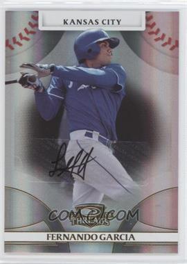 2008 Donruss Threads - [Base] - Gold Signatures #78 - Fernando Garcia /975