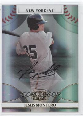 2008 Donruss Threads - [Base] - Gold Signatures #80 - Jesus Montero /975