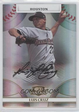 2008 Donruss Threads - [Base] - Gold Signatures #86 - Luis Cruz /975