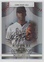 Rookie Autograph - Nevin Griffith /999