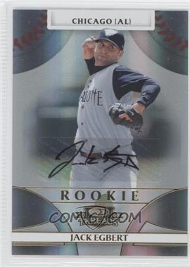 2008 Donruss Threads - [Base] #112 - Rookie Autograph - Jack Egbert /999