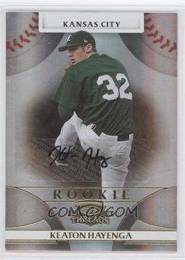2008 Donruss Threads - [Base] #119 - Rookie Autograph - Keaton Hayenga /999