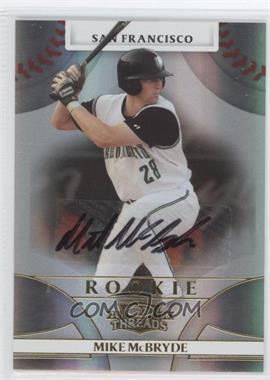 2008 Donruss Threads - [Base] #140 - Rookie Autograph - Mike McBryde /950