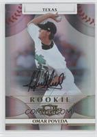 Rookie Autograph - Omar Poveda /999