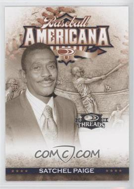 2008 Donruss Threads - Baseball Americana #BA-45 - Satchel Paige /500