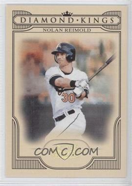 2008 Donruss Threads - Diamond Kings - Gold #DK-2 - Nolan Reimold /100