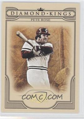 2008 Donruss Threads - Diamond Kings - Gold #DK-36 - Pete Rose /100