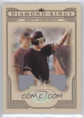 2008 Donruss Threads - Diamond Kings - Materials [Memorabilia] #DK-15 - Brett Anderson /250