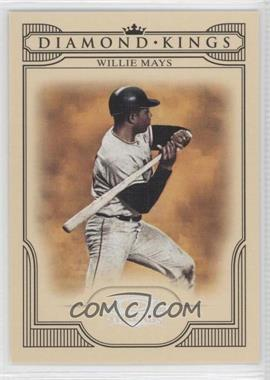 2008 Donruss Threads - Diamond Kings - Silver #DK-46 - Willie Mays /250