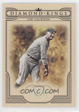 2008 Donruss Threads - Diamond Kings - Silver #DK-51 - Joe Jackson /250
