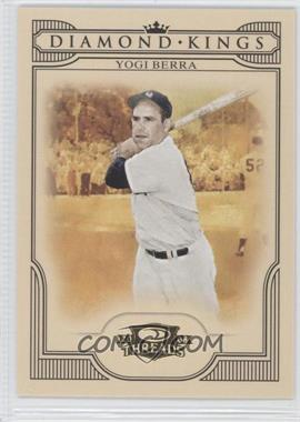2008 Donruss Threads - Diamond Kings #DK-43 - Yogi Berra