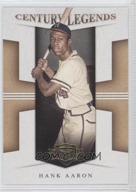 2008 Donruss Threads [???] #CL-3 - Hank Aaron