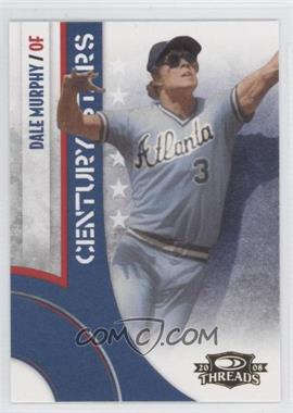 2008 Donruss Threads [???] #CS-9 - Dale Murphy