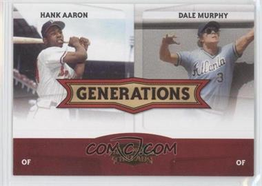 2008 Donruss Threads [???] #G-1 - Hank Aaron