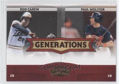 2008 Donruss Threads [???] #G-5 - Rod Carew, Paul Molitor
