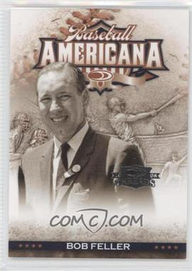 2008 Donruss Threads Baseball Americana #BA-20 - Bob Feller /500