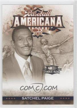 2008 Donruss Threads Baseball Americana #BA-45 - Satchel Paige /500