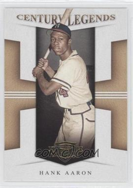 2008 Donruss Threads Century Legends #CL-3 - Hank Aaron