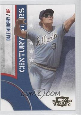 2008 Donruss Threads Century Stars #CS-9 - Dale Murphy