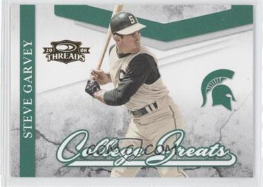 2008 Donruss Threads College Greats #CG-11 - Steve Garvey