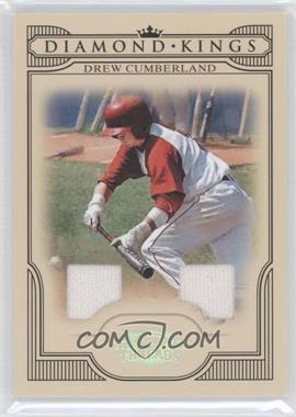 2008 Donruss Threads Diamond Kings Materials [Memorabilia] #DK-17 - Drew Cumberland /250