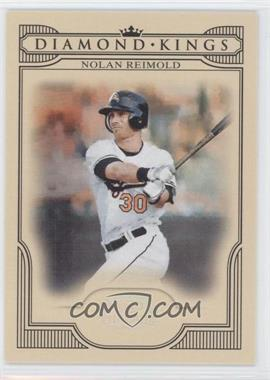 2008 Donruss Threads Diamond Kings Silver #DK-2 - Nolan Reimold /250