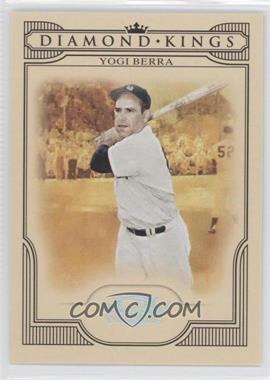 2008 Donruss Threads Diamond Kings Silver #DK-43 - Yogi Berra /250