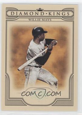 2008 Donruss Threads Diamond Kings Silver #DK-46 - Willie Mays /250