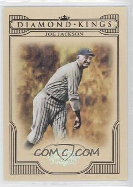 2008 Donruss Threads Diamond Kings Silver #DK-51 - Joe Jackson /250