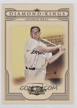 2008 Donruss Threads Diamond Kings #DK-37 - George Kell