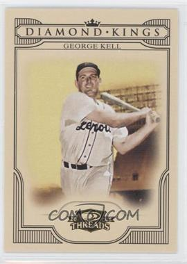 2008 Donruss Threads Diamond Kings #DK-37 - George Kell