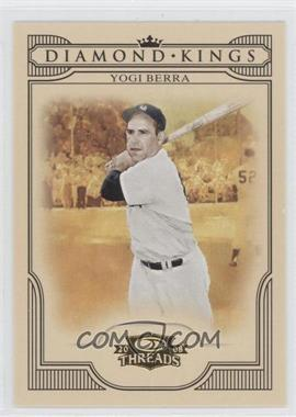 2008 Donruss Threads Diamond Kings #DK-43 - Yogi Berra