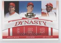 Pete Rose, Joe Morgan, Johnny Bench