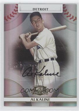 2008 Donruss Threads Gold Signatures #23 - Al Kaline /50