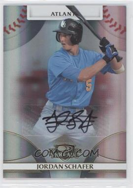2008 Donruss Threads Gold Signatures #53 - Jordan Schafer /275