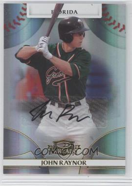 2008 Donruss Threads Gold Signatures #55 - John Raynor /575