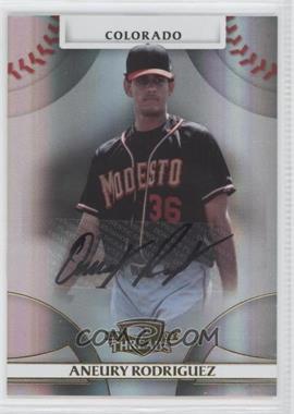 2008 Donruss Threads Gold Signatures #59 - Aneury Rodriguez /975