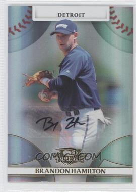 2008 Donruss Threads Gold Signatures #63 - Brandon Hamilton /972