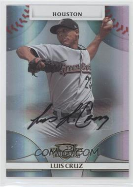 2008 Donruss Threads Gold Signatures #86 - Luis Cruz /975