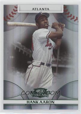 2008 Donruss Threads Green Century Proof #1 - Hank Aaron /250