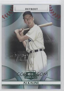 2008 Donruss Threads Green Century Proof #23 - Al Kaline /250