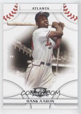 2008 Donruss Threads #1 - Hank Aaron