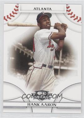 2008 Donruss Threads #1 - Hank Aaron