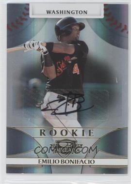 2008 Donruss Threads #101 - Rookie Autograph - Emilio Bonifacio /1874