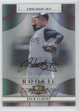 2008 Donruss Threads #112 - Rookie Autograph - Jack Egbert /999