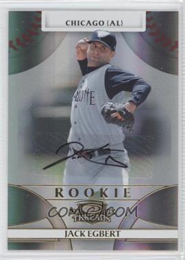 2008 Donruss Threads #112 - Rookie Autograph - Jack Egbert /999