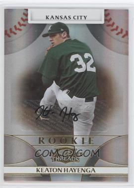 2008 Donruss Threads #119 - Rookie Autograph - Keaton Hayenga /999