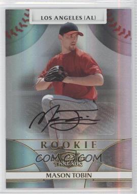 2008 Donruss Threads #123 - Rookie Autograph - Mason Tobin /999